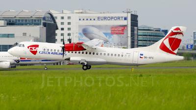 OK-XFC - ATR 72-202 - CSA Czech Airlines