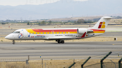 EC-HHV - Bombardier CRJ-200ER - Iberia Regional (Air Nostrum)