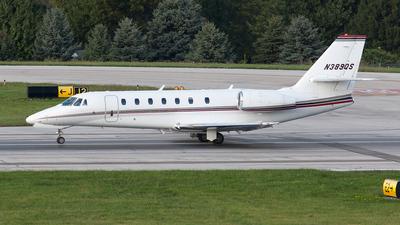 A picture of N389QS - Cessna 680 Citation Sovereign - NetJets - © Felipe Garcia