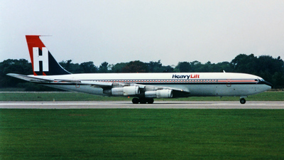 G-HEVY - Boeing 707-324C - HeavyLift Cargo Airlines