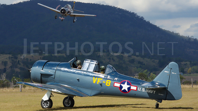 VH-NAG - North American SNJ-4 Texan - Private