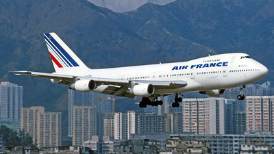 F-GCBH - Boeing 747-230B(SF) - Air France