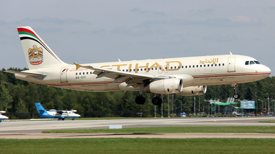 A6-EIC - Airbus A320-232 - Etihad Airways