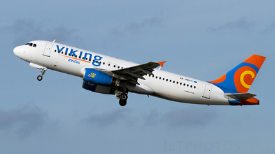 SX-SMU - Airbus A320-231 - Viking Hellas Airlines