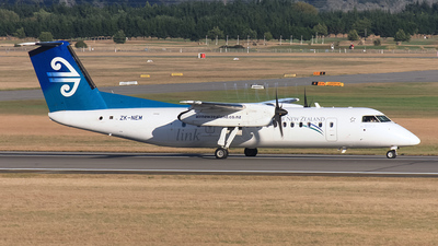 ZK-NEM - Bombardier Dash 8-Q311 - Air New Zealand Link (Air Nelson)