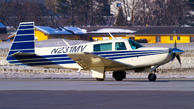 N231MV - Mooney M20K - Private