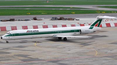 I-DATU - McDonnell Douglas MD-82 - Alitalia