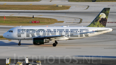 N932FR - Airbus A319-111 - Frontier Airlines