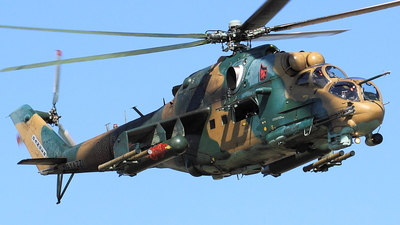 336 - Mil Mi-24P Hind F - Hungary - Air Force