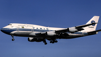PP-VNI - Boeing 747-341(M) - Varig