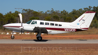 A picture of VHUCD - Cessna 402C - [402C0049] - © Ben Law