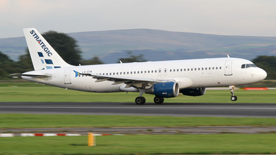 LX-STB - Airbus A320-211 - Strategic Airlines Luxembourg