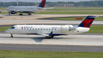 N851AS - Bombardier CRJ-200ER - Delta Connection (Atlantic Southeast Airlines)