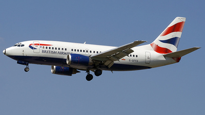 G-GFFD - Boeing 737-59D - British Airways