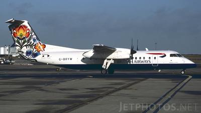 G-BRYW - Bombardier Dash 8-Q311 - British Airways Express (Brymon Airways)