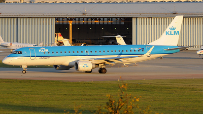 PH-EZA - Embraer 190-100STD - KLM Cityhopper