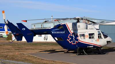 C-FBHS - MBB BK117 - Bighorn Helicopters