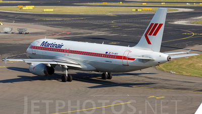 PH-MPD - Airbus A320-232 - Martinair