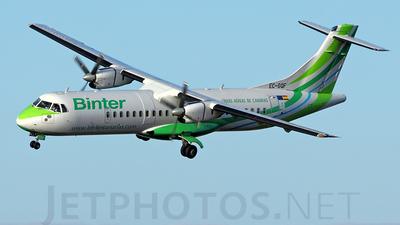 EC-GQF - ATR 72-202 - Binter Canarias (Naysa)