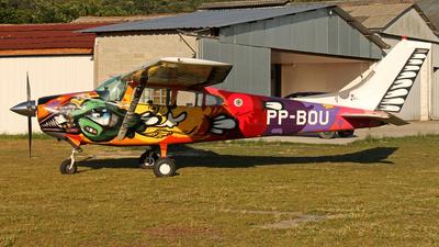 PP-BOU - Cessna 182D Skylane - Vertical Speed Paraquedismo