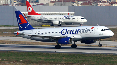 TC-OBD - Airbus A320-232 - Onur Air