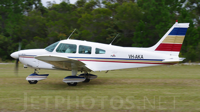 VH-AKA - Piper PA-28-180 Cherokee Archer - Private