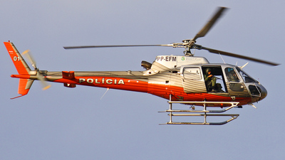 PP-EFM - Eurocopter AS 350B2 Ecureuil - Brazil - Military Police of Ceará State