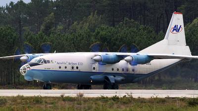 UR-CBG - Antonov An-12BK - AeroVis Airlines