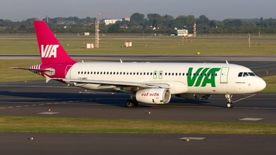 LZ-MDC - Airbus A320-232 - Air Via