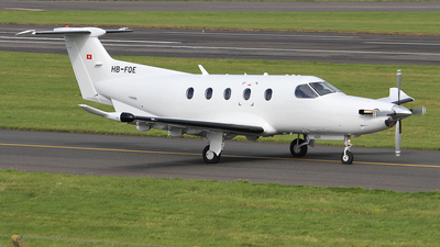 A picture of HBFQE - Pilatus PC12/47E -  - © Ian Howat