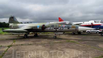 22-35 - Lockheed F-104 Starfighter - Germany - Air Force