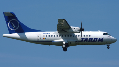 YR-ATE - ATR 42-500 - Tarom - Romanian Air Transport