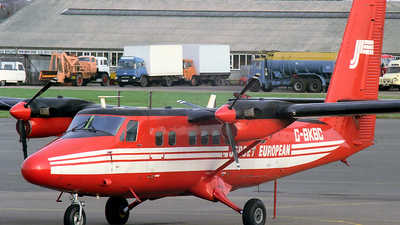 G-BKBC - De Havilland Canada DHC-6-300 Twin Otter - Jersey European Airways