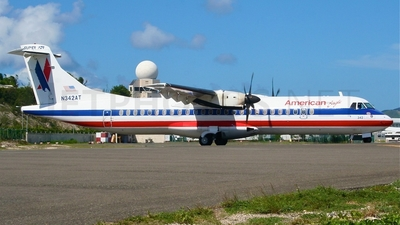 N342AT - ATR 72-212 - American Eagle (Executive Airlines)