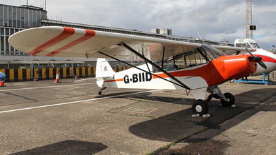 G-BIID - Piper L-18C Super Cub - Private