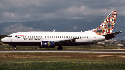 G-OGBE - Boeing 737-3L9 - British Airways (GB Airways)
