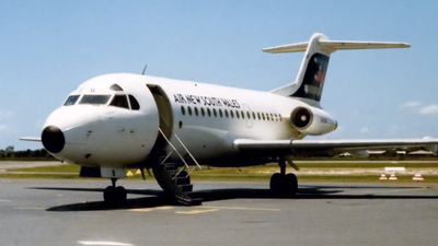 VH-FKB - Fokker F28-1000 Fellowship - Air New South Wales