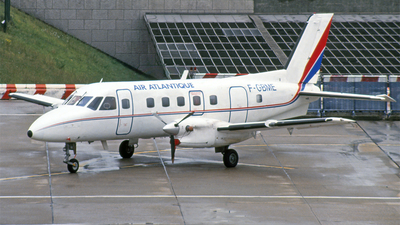 F-GBME - Embraer EMB-110 Bandeirante - Air Atlantique