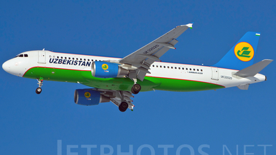UK-32020 - Airbus A320-214 - Uzbekistan Airways