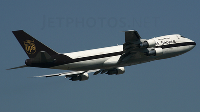 N521UP - Boeing 747-212B(SF) - United Parcel Service (UPS)