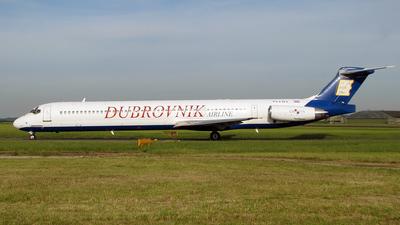 9A-CDA - McDonnell Douglas MD-83 - Aviajet (Dubrovnik Airline)