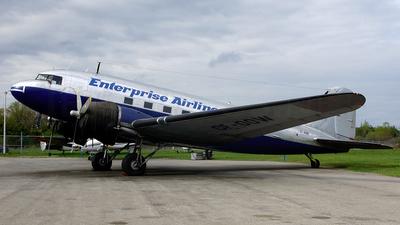 CF-OOW - Douglas DC-3C - Enterprise Airlines