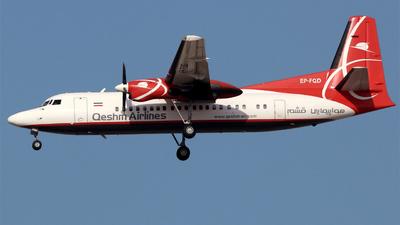 EP-FQD - Fokker 50 - Qeshm Air