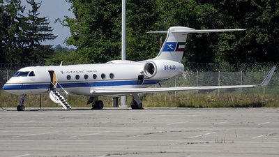 9K-AJD - Gulfstream G-V - Kuwait - Government