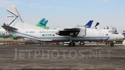 UK-26001 - Antonov An-26B - Avia Leasing