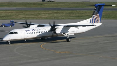 N34NG - Bombardier Dash 8-Q402 - United Express (Colgan Air)