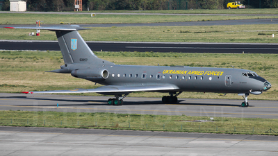 63957 - Tupolev Tu-134AK - Ukraine - Air Force