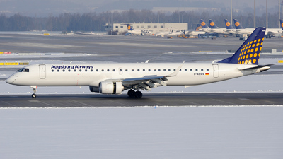 D-AEMA - Embraer 190-200LR - Augsburg Airways