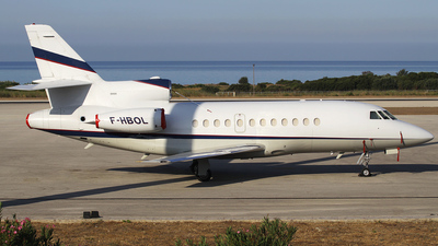 A picture of FHBOL - Falcon 900EX - [107] - © Paul Markman