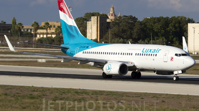 LX-LGR - Boeing 737-7C9 - Luxair - Luxembourg Airlines